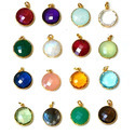 Bezel Set Gemstone Pendant