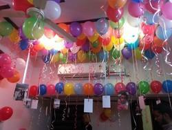 Helium Gas Balloon Decoration