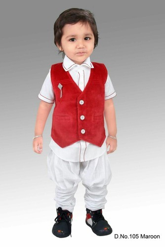 Boys Wedding Wear Three Suit