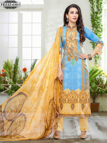 Cotton Embroidery Dress Material at Rs 1440  piece  5c98e4308