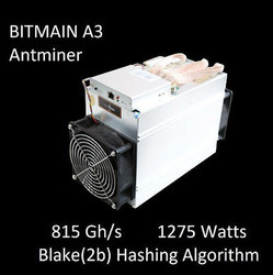 Bitmain Antminer A3 - 815 GH/S - View Specifications & Details of