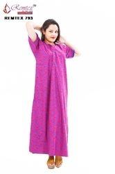 Full Length DtoD Designer Stylish Nightwear Gowns