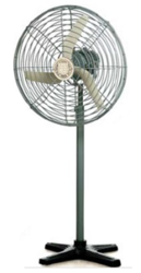 Adjustable Grey Flameproof Pedestal Fans, Model Number/Name: Pe/Ex/Pf901 Series, Warranty: 18 Months