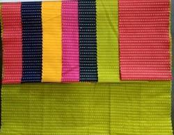 Pure Cotton Katha Fabric, Multicolour