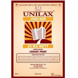 UNILAX Matt Cement Paint, Packaging Size: 25kg, Packaging Type: HDPE Bag