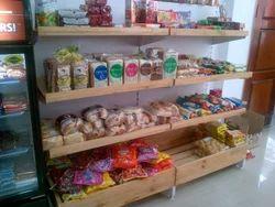 Wooden Food Display