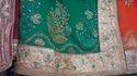 Green Bridal Ladies Sarees
