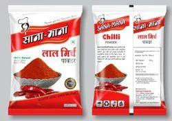 Chilli Powder (mirchi powder), Packaging: Packet