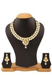 Fashionable Women Jewelry Kundan Necklace Set