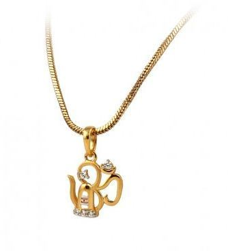 Om shiva 18 k yellow gold religious pendant at rs 585699 pieces om shiva 18 k yellow gold religious pendant mozeypictures Choice Image