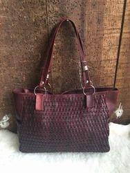Modern Fancy Leather Ladies Handbag
