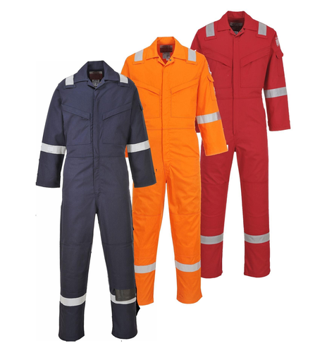 Medium And XL Cotton Flame Retardant Coverall