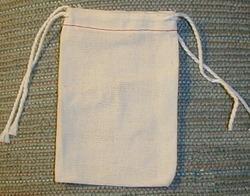 Cotton Shoe Bag - Drawstring