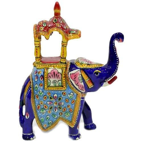 Meenakari Work Elephant Ambawadi MT001