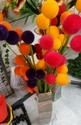 Hyperboles artificial flower sticks