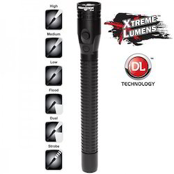 Rechargeable LED Flashlight with Battery