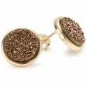 Titanium Druzy Jewelry Stone