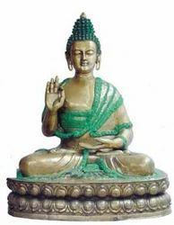 Aakrati Handmade Handicrafts Buddha Statue