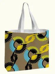 Geometrical Printed Design Cotton Bag