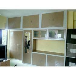 Stainless Steel Designer Kitchen Wardrobe