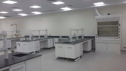 Lab Center Bench