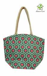 Fancy Jute Ladies Handbag