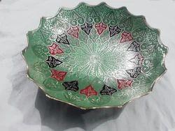 Multicolored Silver Colour Bowl