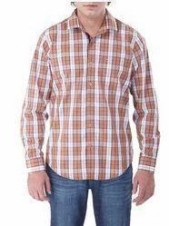 Casual Yrn Dyd Checks Full Sleeve Shirts