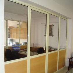 Aluminium Partition Door