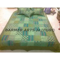 SILK JACQUARD BED COVER