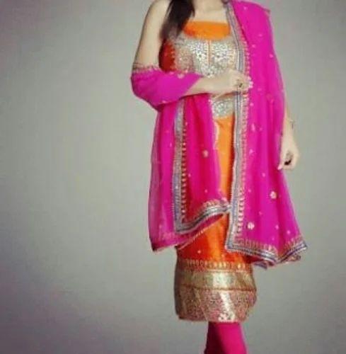 aabbe87832 Wedding Suit Dupattas - Designer Embroidered Suit Manufacturer from ...