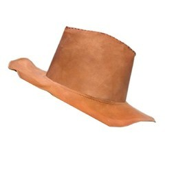 Genuine Leather Cow Boy Jungle Hat HAT101