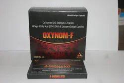 Co Enzyme Q10 100mg  L Arginine 100mg Omega 3 Fatty Acid Sg