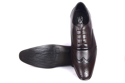 dceb4eb2b808a Mens S. K. Leathers Formal Shoes, Size: 6 To 10, Rs 450 /pair | ID ...