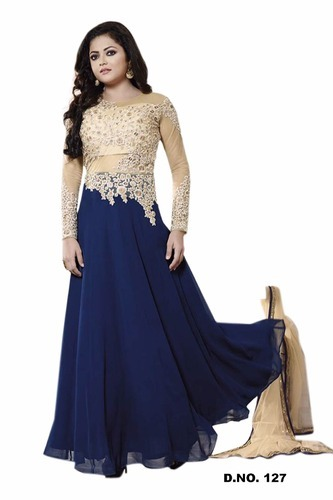 0220130fb0c Madhu Blue Ladies Designer Dress at Rs 1800  piece