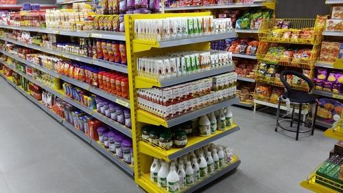 Super Market Grocery Display Rack
