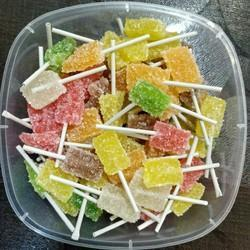 Fruit Jelly Cubes