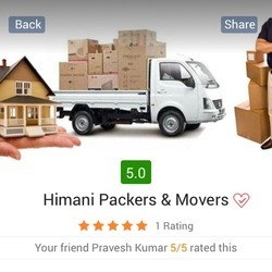 Household Goods Moving Services, in Sheets, Delhi NCR