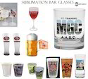 Sublimation Printing _Wine Bar Glasses