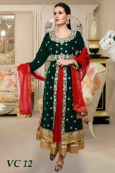 Trendy Velvet Anarkali Suits