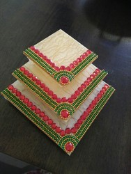 3 Layer Decorative Diya Stand