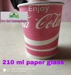 210 ml paper Glass