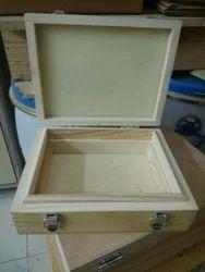 Industrial Wood Tool Box