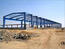 MS Prefab PEB Structure Shed