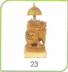 23 Wooden Handicraft