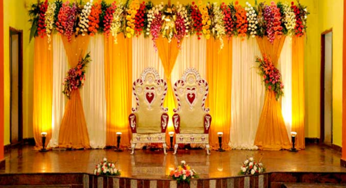 Marriage party flower decoration in ulubari chariali guwahati m floral decoration services junglespirit Choice Image