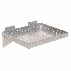 Stainless Steel SS Slatwall Shelves
