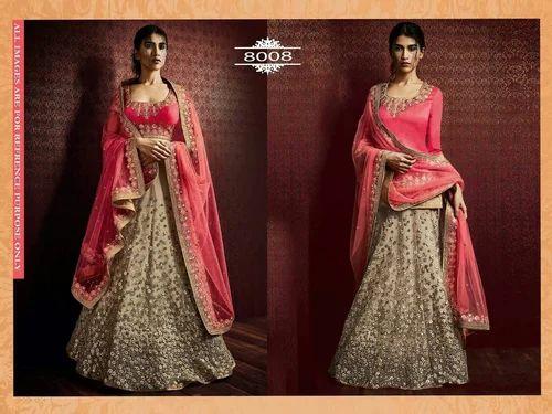 bebf0e1bcef1b Semi-Stitched Brocade Wedding Lehengas, Rs 4500 /piece, Femina ...