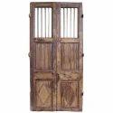 Wood Brown Wooden Door