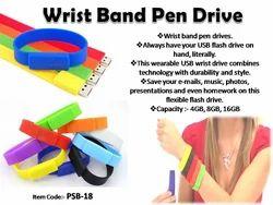 Wrist Band Pen Drive